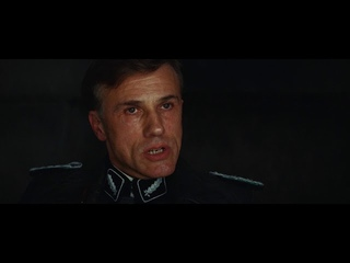 Ханс Ланда - Фашист который ловит евреев I Бесславные ублюдки (2009)