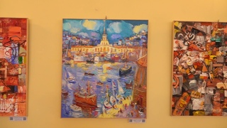 «Солнце в порту»! Персональная выставка Геннадия Куманяева!