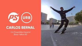 Carlos Bernal on Powerslide Imperial Black Yellow 80