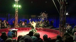 Шоу Мыльных пузырей. АНО ЦСП «Тэнгу Про» (Боевые искусства) в цирке «Союз»