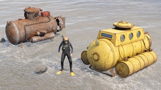 Rust - Подводные лодки! Первый взгляд!