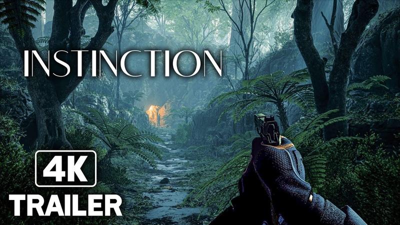 INSTINCTION Official Trailer 2022 4K