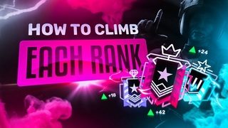 The BEST TIPS on How to Climb Each Rank in Rainbow Six Siege