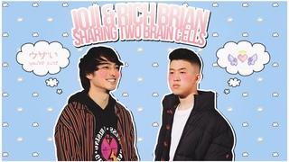 joji & rich brian sharing two brain cells