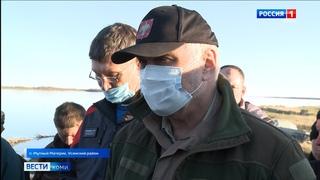 Владимир Уйба рассказал о работе по ликвидации нефтеразлива на Колве