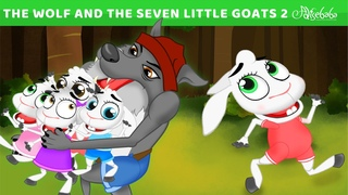 The Wolf And The Seven Little Goats | Bedtime Stories for Kids | Animated Fairy Tales