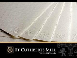 Обзор бумаги Saunders Waterford от производителя St Cuthberts Mill