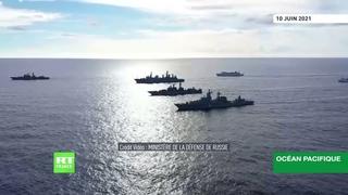 La marine russe effectue des exercices militaires de grande ampleur dans le Pacifique