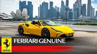 Achieve maximum performance for your Ferrari F8 Spider with Ferrari Genuine Accessories