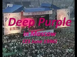 Deep Purple at Dynamo Stadium (Moscow, ) - stereo sound