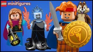 Открываем LEGO Minifigures Disney 2 series