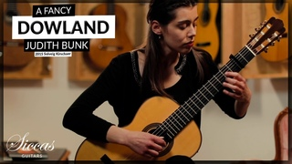 Judith Bunk plays A Fancy by John Dowland on a 2015 Solveig Kirschner (2021)