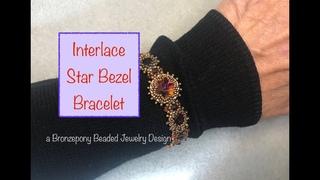 Interlace Star Bezel Bracelet