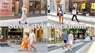 Стрит стайл/ Что носят летом в Стокгольме/ Летние образы/Городской стиль/Летние платья
