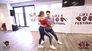 Cristian & Gabriella [ Quiereme Un Poquito -Grupo Extra ] @ Like A BOS Festival 2019