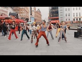 Soul Train Flash Mobs Take Over London!
