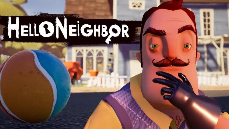 Привет сосед Hello Neighbor Прошёл 1 АКТ Что он скрывает