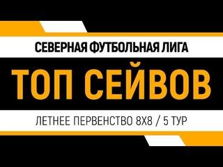 Топ Сейвов \ 5 тур \ Летнее первенство 8х8 \ Черкасова