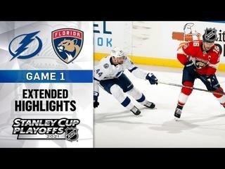 Tampa Bay Lightning vs Florida Panthers R1, Gm1 May 16, 2021 HIGHLIGHTS