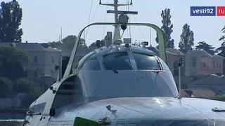 «Комета» отправилась в первый рейс Севастополь – Ялта