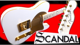 I Bought The SCANDAL Tele   2020 Fender Haruna Signature Telecaster White Gold Binding Review + Demo