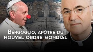 🎙Adrien Abauzit | Bergoglio, apôtre du nouvel ordre mondial | Soutien total à l'abbé Vigano