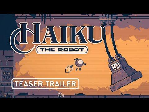 Спасите мир в игре Haiku the Robot