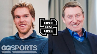 Wayne Gretzky and Connor McDavid Have an Epic Conversation   One-on-One   GQ Sports