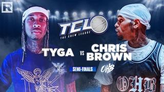 Chris Brown vs. Tyga (Semi-Finals) | The Crew League Season 2 (Episode 5)