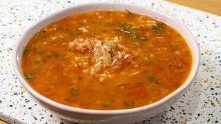 Любимый суп моего Тестя. Самый быстрый томатный суп.
