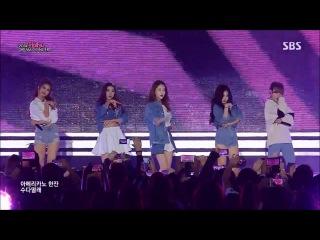 141012 4Minute - Intro & Whatcha Doin' Today? @ 2014 Hallyu Dream Concert
