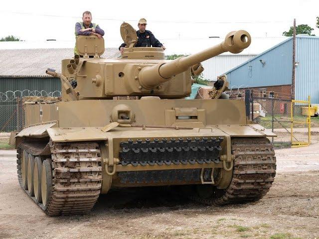 Внутри танка Тигр