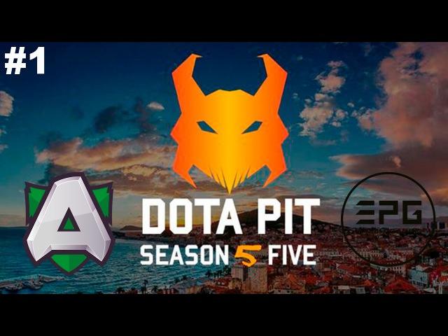 New Patch 7 00 The Alliance vs Elements 1 DotaPit Season 5 Dota 2
