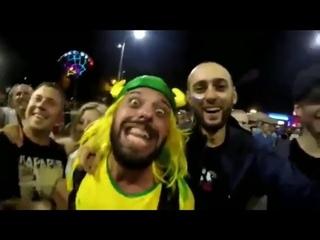 Россия ахуенно братан!!! Безумный бразилец продолжает отжигать на ЧМ 2018!!!