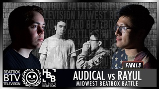 AUDICAL vs Rayul / FINALS - Midwest Beatbox Battle 2018