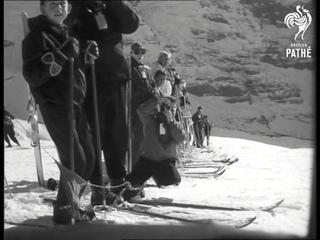 Skiing - Lauberhornrennen In Grindenwald And Wengen (1961)