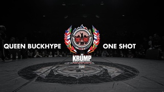 Queen Buckhype vs One Shot   Female Final   EBS KRUMP WORLD CHAMPIONSHIP 2018
