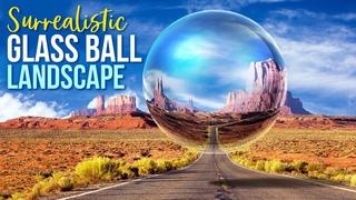 Photoshop: Create a Surrealistic, Glass Ball Landscape