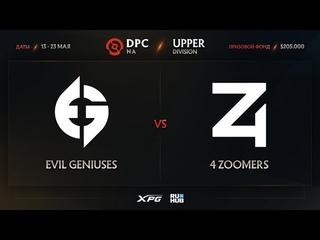 Evil Geniuses vs 4 Zoomers, Dota Pro Circuit 2021 NA S2, bo3, game 2 [Eiritel & Lost]
