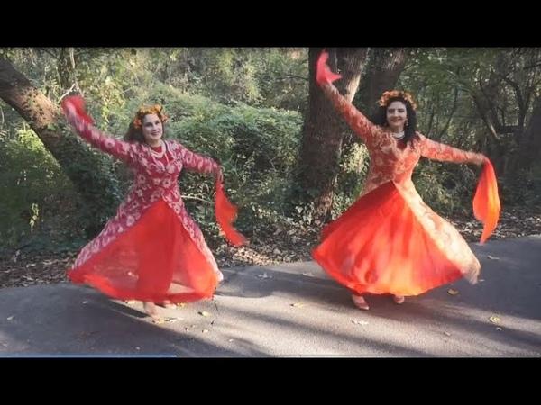 Barge Khazan Autumn Leaves Bijan Mortazavi Persian Dance Silk Road Dance Company