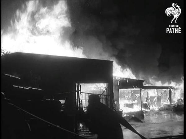 Paint Factory Fire 1966