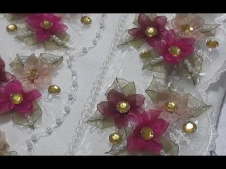Güpür üzerine #çigdem #çiçeği  ile yapilan havlu kenari