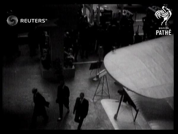 Opening of Aero Exhibition 1929