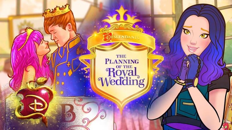 Ben and Mal's Royal Wedding Preparation 👰 Compilation Descendants