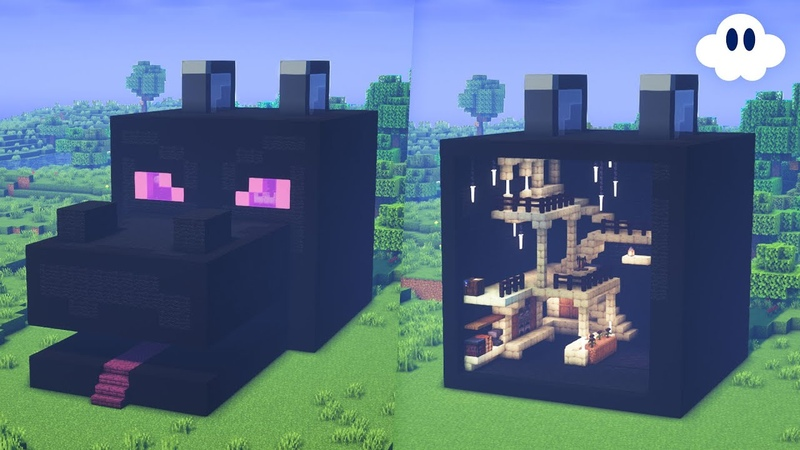 Minecraft How to Build an Ender Dragon House