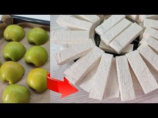 Яблочная ПАСТИЛА 🍏 заварным способом! 💯 ❗ получается! Самая БЫСТРАЯ ПАСТИЛА!