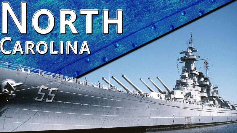 Только История линкор USS North Carolina