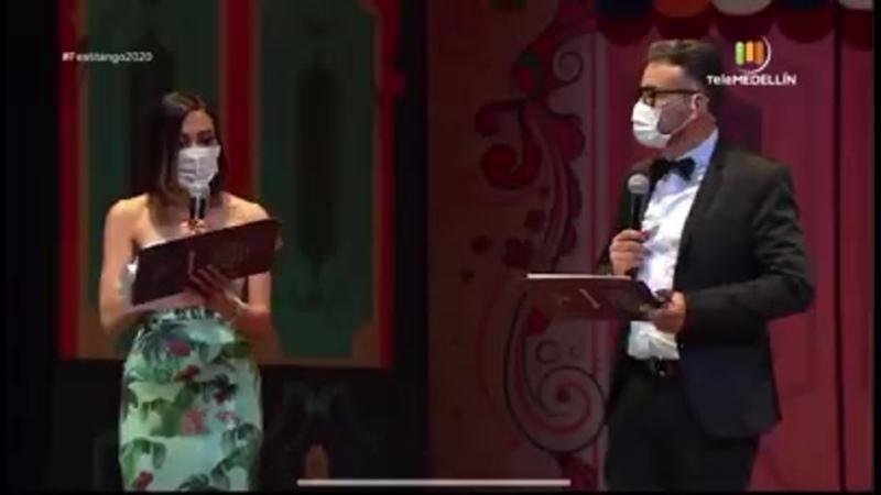 Leydi Johana Gonzales Rojas primer lugar categoría solista femenina del Festival internacional de Tango Medellín 2020 Festit
