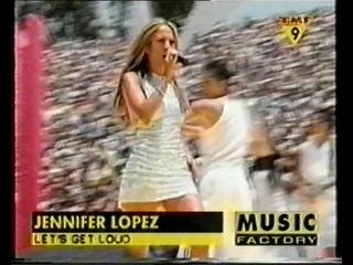 """Jennifer Lopez. Let's Get Loud (""""TMF9"""") (""""The Music Factory"""") (2000)"""