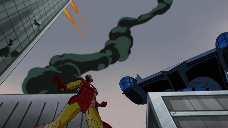 1 серия Мстители Величайшие герои Земли